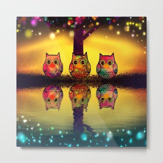 owl-202 Metal Print
