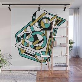 Partridge - Geometric Abstract Digital Design Wall Mural
