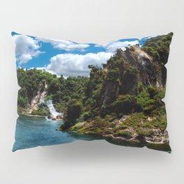 Frying Pan Lake, New Zealand Landscape Pillow Sham