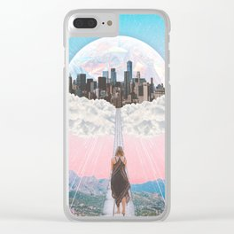 CITY OF PASTEL DREAMS III Clear iPhone Case