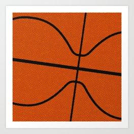 Fantasy Basketball Super Fan Free Throw Art Print