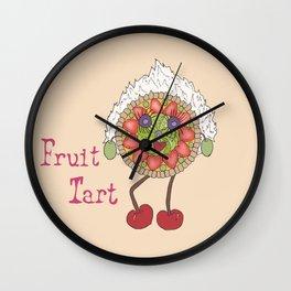 Fruit Tart Wall Clock