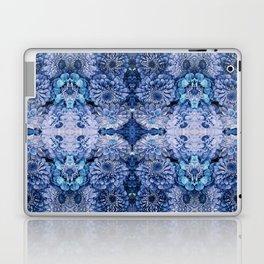 Frozen floral, nature, woodland, hippie, mandala, psychedelic Laptop & iPad Skin