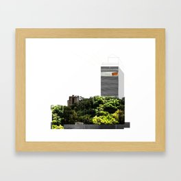 NYC Postoperative | Higher than yours  Framed Art Print