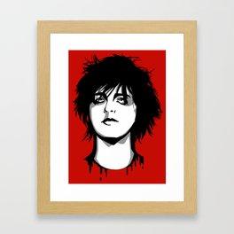 Billie Joe Armstrong Framed Art Print