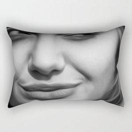 Angelina Jolie - Celebrity Art (Hot & Cute) Rectangular Pillow