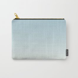 BLUE STRIKES - Minimal Plain Soft Mood Color Blend Prints Carry-All Pouch