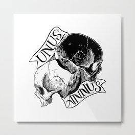 unus annus Metal Print