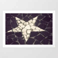 Paved For Success  Art Print