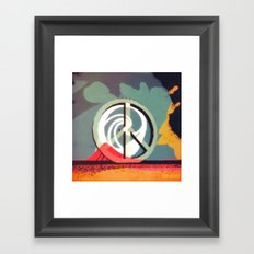 WE Are The People (PopART Redux) Framed Art Print
