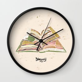 Bloomsday 2014 Wall Clock