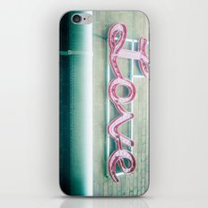Sign of Love iPhone & iPod Skin