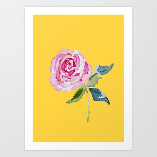 Watercolor Rose by andreas12
