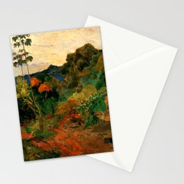 "Paul Gauguin ""Martinique Landscape (Tropical Vegetation)"" Stationery Cards"