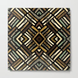 Tribal Abstracts 4 Metal Print