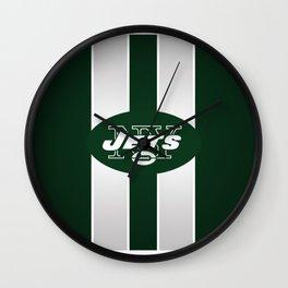 NY jets club Wall Clock