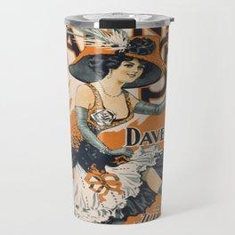 Vintage poster - The Girl from Paris Travel Mug