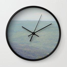 Parc National de la Gaspésie (Québec, Canada) Wall Clock