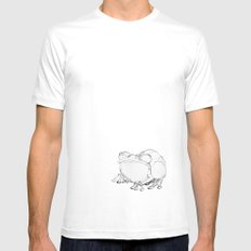 Toad Mens Fitted Tee SMALL White