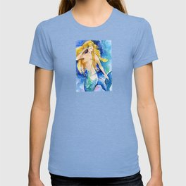 Celeste Mermaid by Kathy Morton Stanion T-shirt