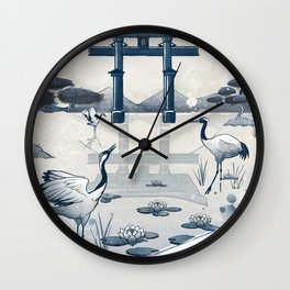 Japan Vintage Torii Gate Wall Clock
