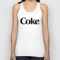 coke Tank Tops featuring Do Coke by Startled Artist