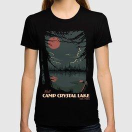 Visit Camp Crystal Lake T-shirt