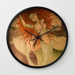 Green Moss Kingdom Wall Clock