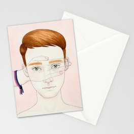 Bisexual Invisibility #1 Stationery Cards