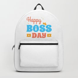 Happy Boss Day Backpack