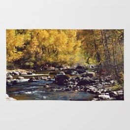 Eagle River in Avon Colorado Rug