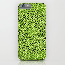 Turing Tunnel in Green iPhone Case