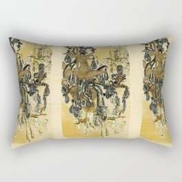 French Chandeliers Rectangular Pillow