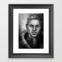 King Alistair Framed Art Print