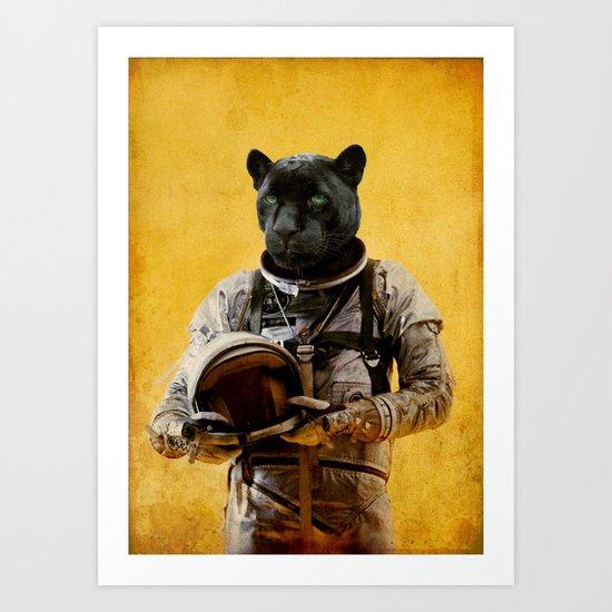 Space Jag Art Print