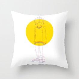 Mindless Throw Pillow