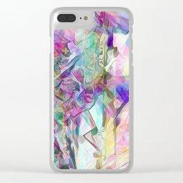 Motheroficepearls Clear iPhone Case