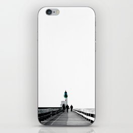 Green Lighthouse iPhone Skin