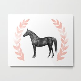 Laureate Horse Print Metal Print