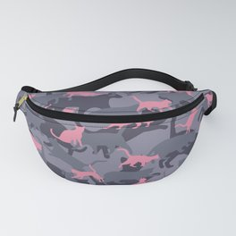 Cat Camo PINK Fanny Pack