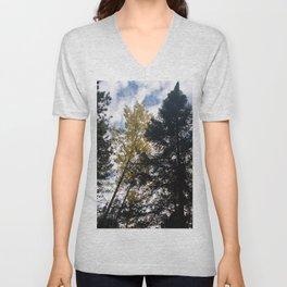 Mystical Magic of Trees pt15 Unisex V-Neck