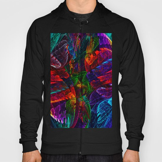 Bright Colored Leaves Hoody