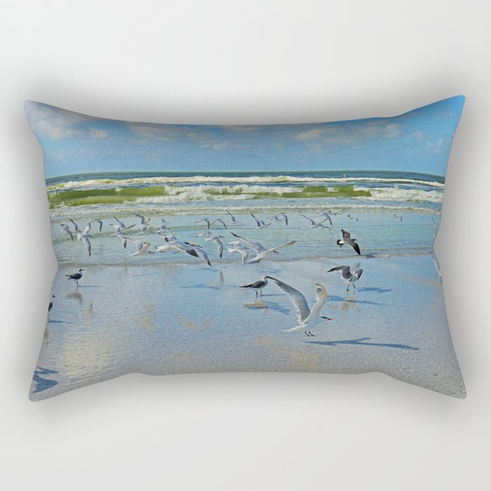 Time for Me to Fly Rectangular Pillow
