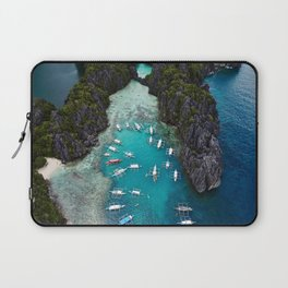 Island hopping in the Philippines Laptop Sleeve