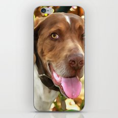 Arthur The Hunting Dog iPhone & iPod Skin