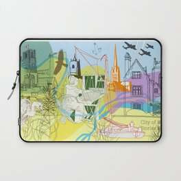 Norwich- City of Stories Laptop Sleeve