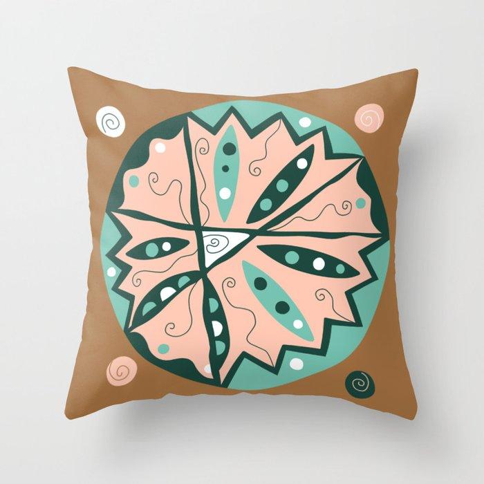 Dot #15 by lalalamonique Throw Pillow