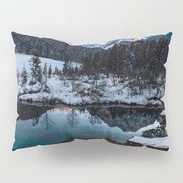 Zelenci springs at dusk Pillow Sham