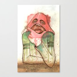 HEY HEY HEY Canvas Print