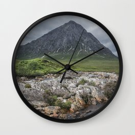 The Majesty of the Mountains Wall Clock